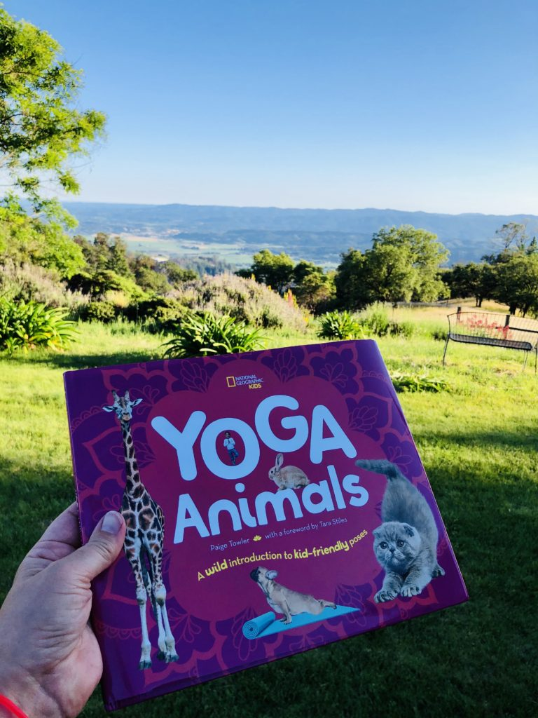 Yoga Animals Book Cover