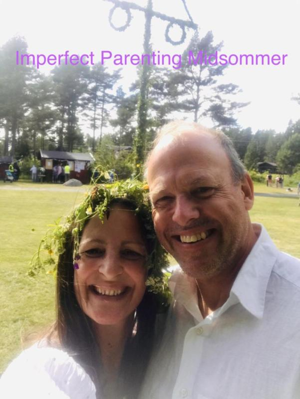 Ariel and Mats on Imperfect Parenting Podcast, talking about Midsommer in Sweden and creating the summer experience you and your family need.