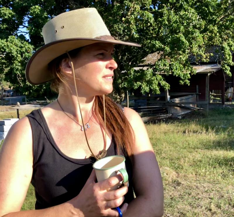 Lisa Wik Granberg -Ranch living -Sweden Episode 2: